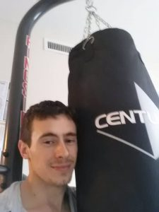 about alex tucker with heavy bag