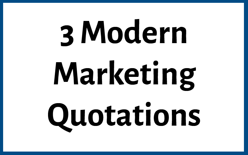 3 modern marketing quotations