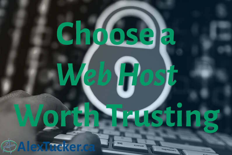3 web hosts worth trusting