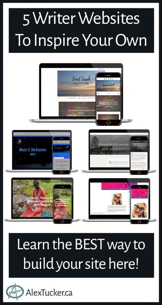 writer websites pin