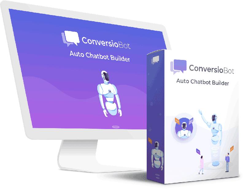 auto chatbot builder mockup