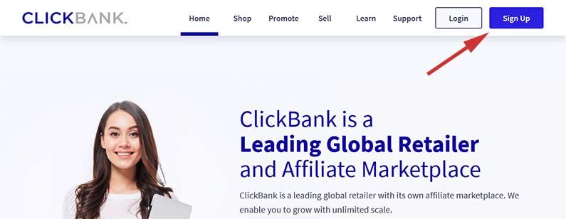 ClickBank Leading Affiliate Marketplace Global Retailer
