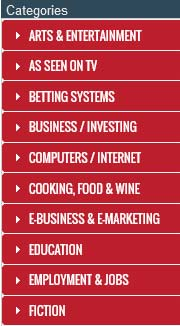 Clickbank marketplace menu