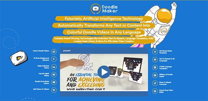 DoodleMaker Launch Discount - doodlemaker.com
