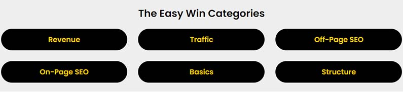 EasyWins categories