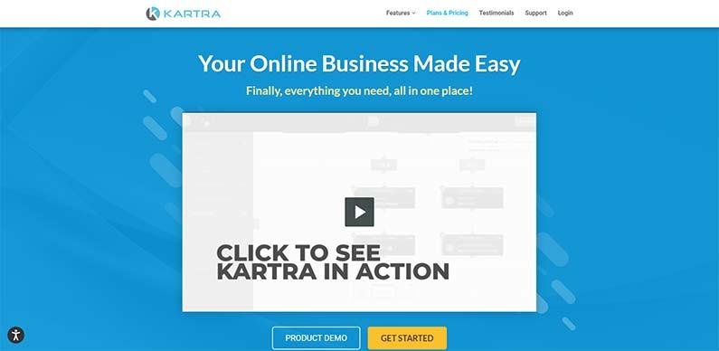 Kartra best funnel builder for affiliate marketers