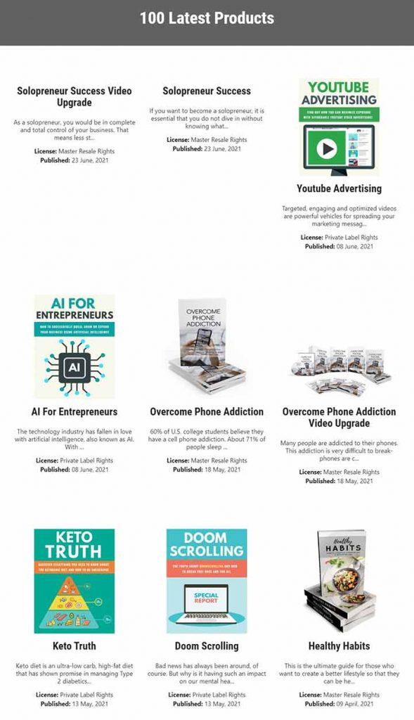 New Products - www.idplr.com