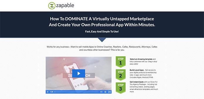 Zapable – Instant Mobile App Agency – Zapable - zapable.com