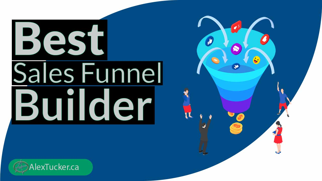 best sales funnel builder software platform tools