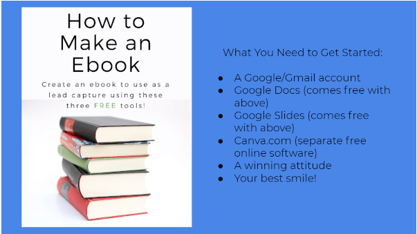 how to make an ebook cover google slides