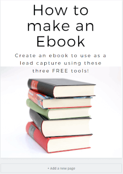how to make an ebook cover