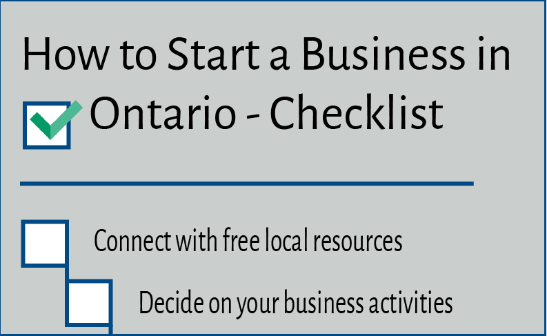 how to start a business in canada without money