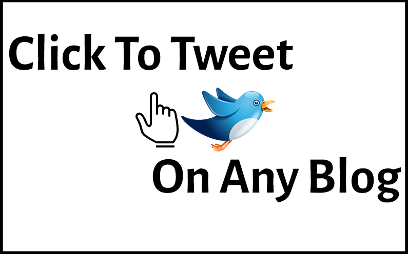 how to use click to tweet on any blog or website