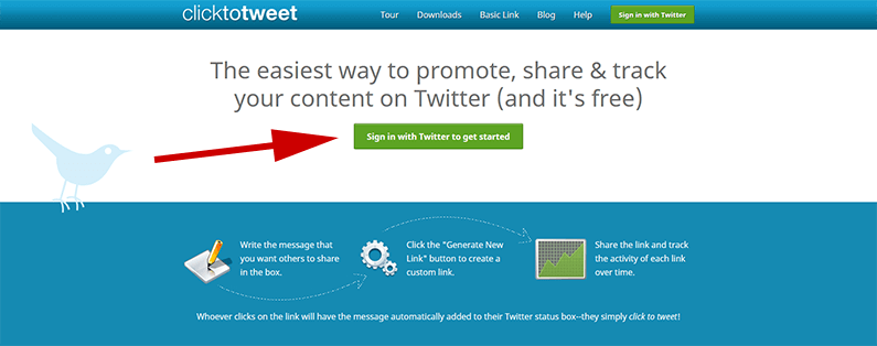 how to use click to tweet on any blog