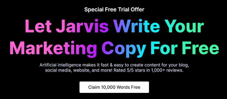 jarvis ai free trial