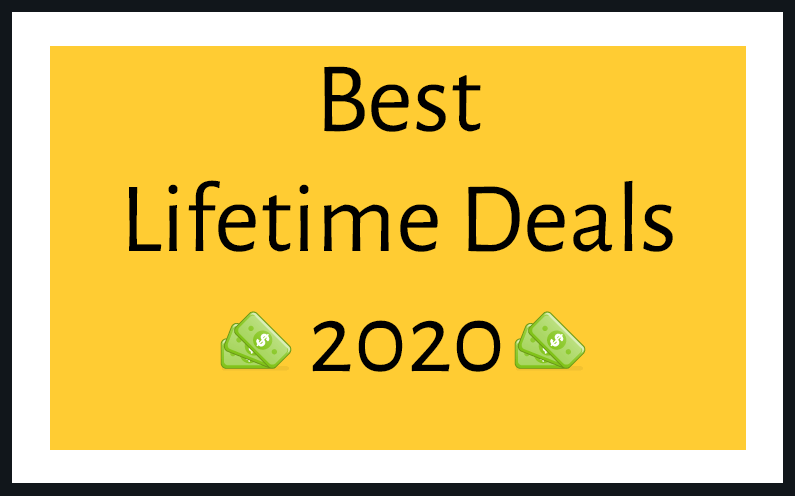 lifetime deals 2020