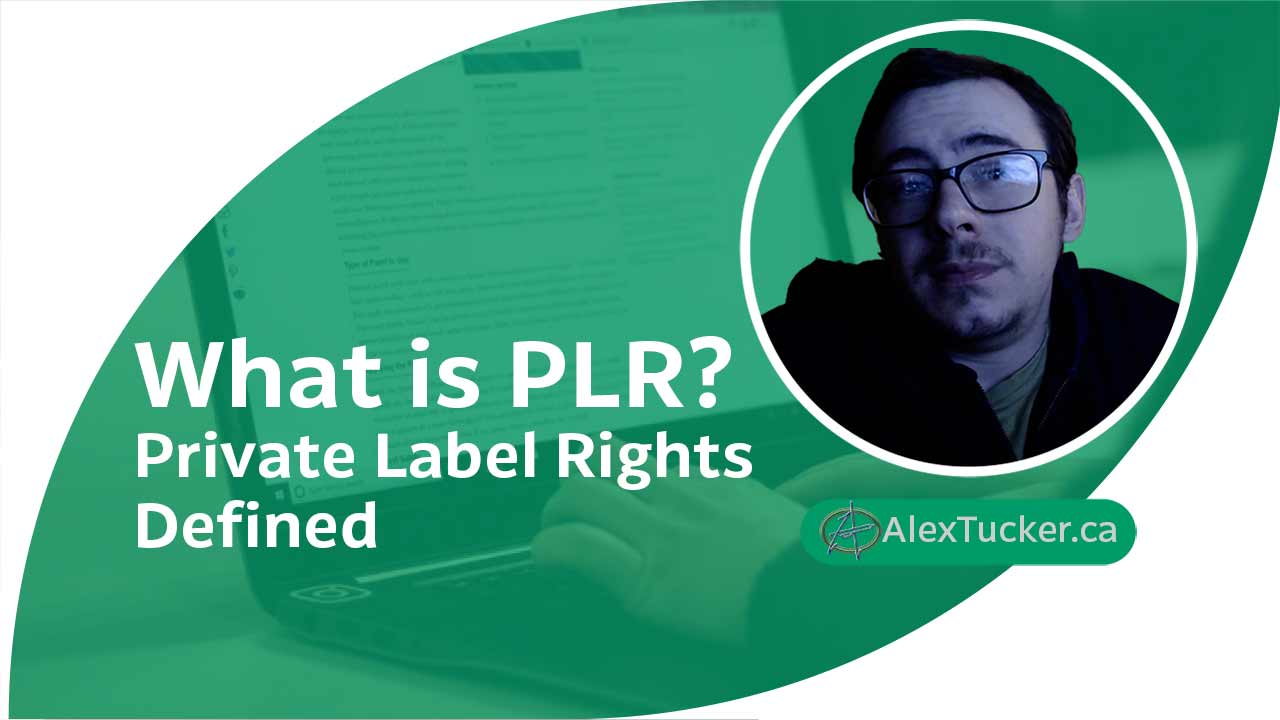 what is plr private label rights defined