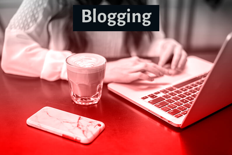 work from home as a blogger